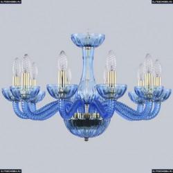 1311/10/200 G Aq/Aquamarime/M-1H Хрустальная люстра Bohemia Ivele Crystal (Богемия), 1311