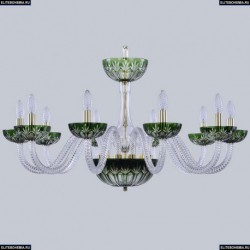 1308/10/300 G Cl/Clear-Green/H-1I Хрустальная люстра Bohemia Ivele Crystal