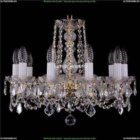 1402/10/160/G/Leafs Хрустальная подвесная люстра Bohemia Ivele Crystal (Богемия)