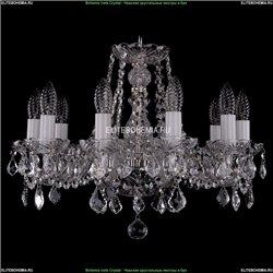 1402/10/160/Ni/Leafs Хрустальная подвесная люстра Bohemia Ivele Crystal
