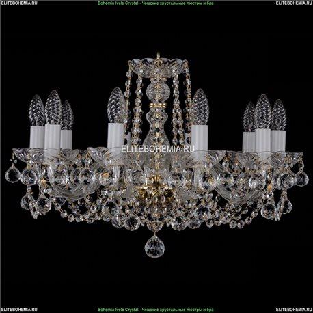 1402/10/195/G/Balls Хрустальная подвесная люстра Bohemia Ivele Crystal (Богемия)