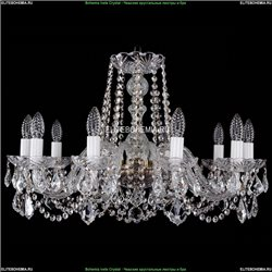 1402/10/240/Pa/Leafs Хрустальная подвесная люстра Bohemia Ivele Crystal