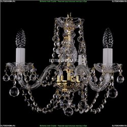 1406/3/141/G/Balls Хрустальная подвесная люстра Bohemia Ivele Crystal