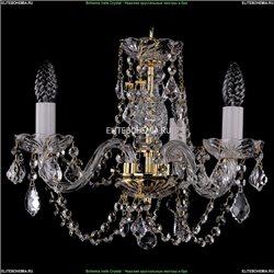 1406/3/141/G/Leafs Хрустальная подвесная люстра Bohemia Ivele Crystal