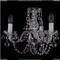 1406/3/141/Ni/Balls Хрустальная подвесная люстра Bohemia Ivele Crystal
