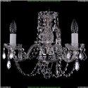 1406/3/141/Ni/Leafs Хрустальная подвесная люстра Bohemia Ivele Crystal