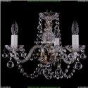 1406/3/141/Pa/Balls Хрустальная подвесная люстра Bohemia Ivele Crystal