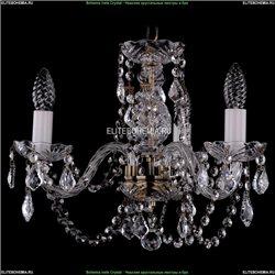 1406/3/141/Pa/Leafs Хрустальная подвесная люстра Bohemia Ivele Crystal