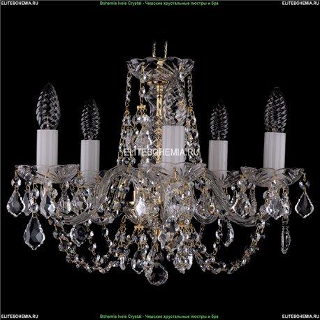 1406/5/141/G/Leafs Хрустальная подвесная люстра Bohemia Ivele Crystal (Богемия)
