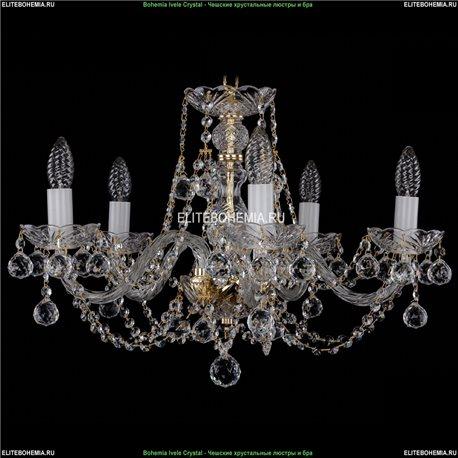 1406/5/195/G/Balls Хрустальная подвесная люстра Bohemia Ivele Crystal (Богемия)
