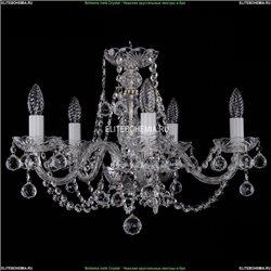 1406/5/195/Ni/Balls Хрустальная подвесная люстра Bohemia Ivele Crystal