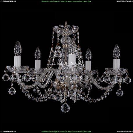 1406/5/195/Pa/Balls Хрустальная подвесная люстра Bohemia Ivele Crystal (Богемия)