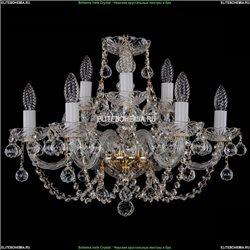 1406/6+3/195/G/Balls Хрустальная подвесная люстра Bohemia Ivele Crystal (Богемия)