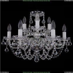 1406/6+3/195/Ni/Balls Хрустальная подвесная люстра Bohemia Ivele Crystal