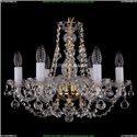1406/6/160/G/Balls Хрустальная подвесная люстра Bohemia Ivele Crystal