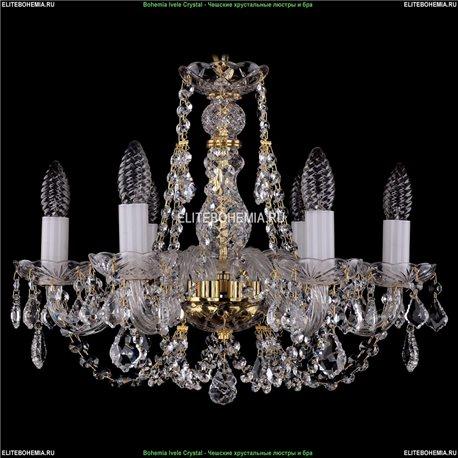 1406/6/160/G/Leafs Хрустальная подвесная люстра Bohemia Ivele Crystal (Богемия)