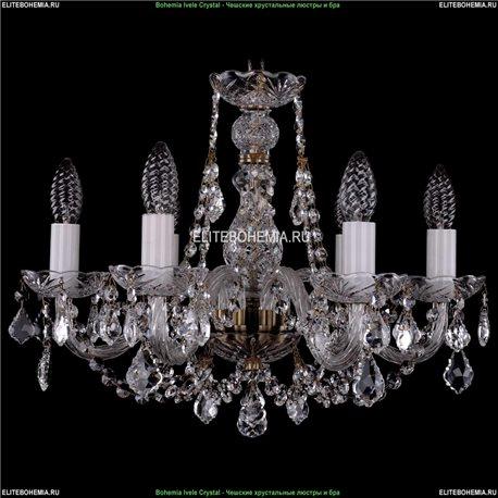1406/6/160/Pa/Leafs Хрустальная подвесная люстра Bohemia Ivele Crystal (Богемия)
