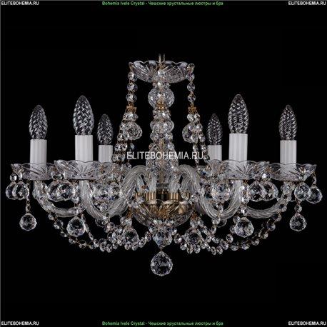 1406/6/195/Pa/Balls Хрустальная подвесная люстра Bohemia Ivele Crystal (Богемия)