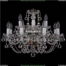 1406/8+4/195/Pa/Balls Хрустальная подвесная люстра Bohemia Ivele Crystal