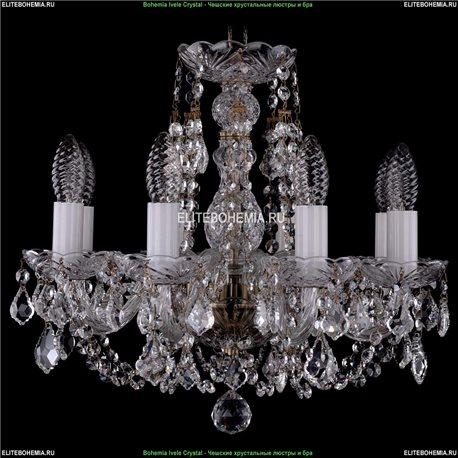 1406/8/141/Pa/Leafs Хрустальная подвесная люстра Bohemia Ivele Crystal (Богемия)