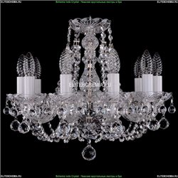 1406/10/141/Ni/Balls Хрустальная подвесная люстра Bohemia Ivele Crystal