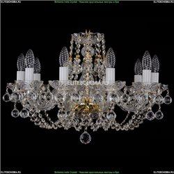 1406/10/195/G/Balls Хрустальная подвесная люстра Bohemia Ivele Crystal