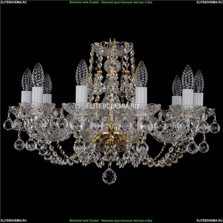 1406/10/195/G/Balls Хрустальная подвесная люстра Bohemia Ivele Crystal (Богемия)