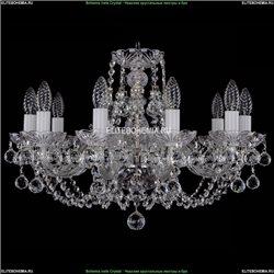 1406/10/195/Ni/Balls Хрустальная подвесная люстра Bohemia Ivele Crystal