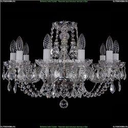 1406/10/195/Ni/Leafs Хрустальная подвесная люстра Bohemia Ivele Crystal