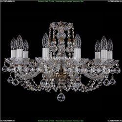 1406/10/195/Pa/Balls Хрустальная подвесная люстра Bohemia Ivele Crystal