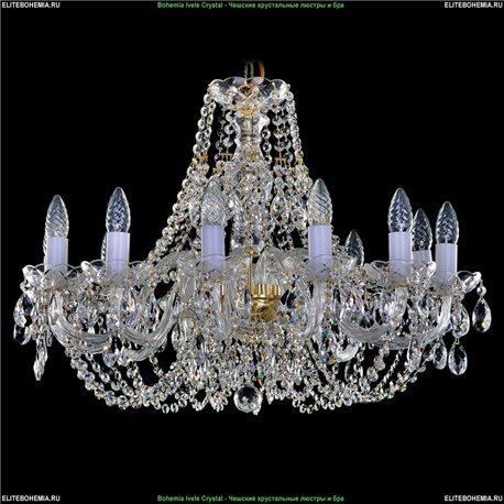 1406.12.240 Bohemia Ivele Crystal, Чешская Подвесная люстра с хрустальным рожком