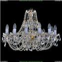 1406/12/240/G Хрустальная подвесная люстра Bohemia Ivele Crystal