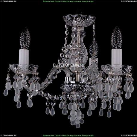1410/3/141/Ni/0300 Хрустальная подвесная люстра Bohemia Ivele Crystal (Богемия)