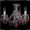 1410/3/141/Ni/V7010 Хрустальная подвесная люстра Bohemia Ivele Crystal