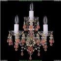 1410B/2+1/141/G/V7010 Хрустальное бра Bohemia Ivele Crystal