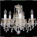 1410/5/141/G/V0300 Хрустальная подвесная люстра Bohemia Ivele Crystal
