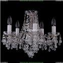 1410/5/141/Ni/V0300 Хрустальная подвесная люстра Bohemia Ivele Crystal