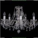 1410/5/195/Ni/V0300 Хрустальная подвесная люстра Bohemia Ivele Crystal