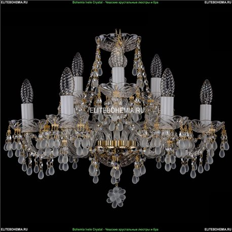 1410/6+3/195/G/0300 Хрустальная подвесная люстра Bohemia Ivele Crystal (Богемия)