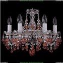 1410/6/141/Ni/V7010 Хрустальная подвесная люстра Bohemia Ivele Crystal