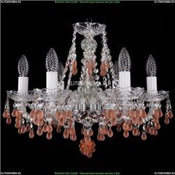 1410/6/160/Ni/V7010 Хрустальная подвесная люстра Bohemia Ivele Crystal