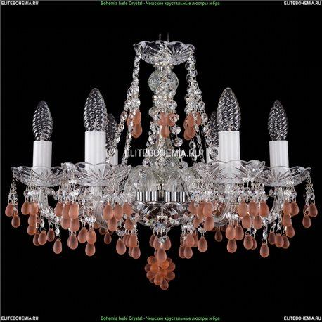 1410/6/160/Ni/7010 Хрустальная подвесная люстра Bohemia Ivele Crystal (Богемия)