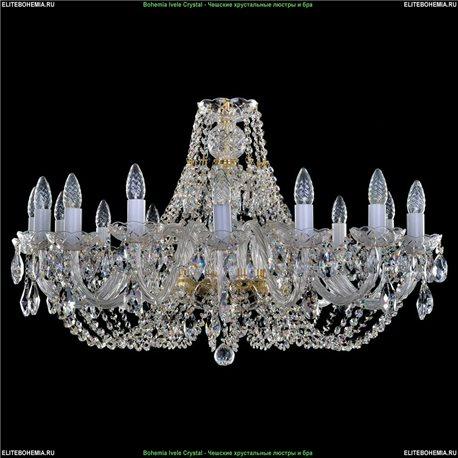 1406.16.300 Bohemia Ivele Crystal, Чешская Подвесная люстра с хрустальным рожком