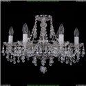 1410/6/195/Ni/V0300 Хрустальная подвесная люстра Bohemia Ivele Crystal