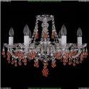 1410/6/195/Ni/V7010 Хрустальная подвесная люстра Bohemia Ivele Crystal
