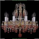 1410/8/141/G/V7010 Хрустальная подвесная люстра Bohemia Ivele Crystal (Богемия)