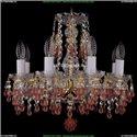 1410/8/141/G/V7010 Хрустальная подвесная люстра Bohemia Ivele Crystal
