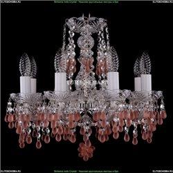 1410/8/141/Ni/V7010 Хрустальная подвесная люстра Bohemia Ivele Crystal