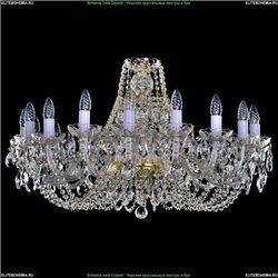 1406/18/300 Хрустальная подвесная люстра Bohemia Ivele Crystal (Богемия)