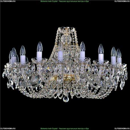 1406.18.300 Bohemia Ivele Crystal, Чешская Подвесная люстра с хрустальным рожком